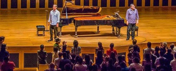 Marco Bernardo e Fábio Caramuru na Sala São Paulo, dia 17 de fevereiro de 2019, domingo, 11h